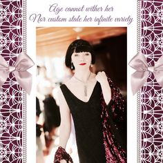 Everything Miss Fisher, The Foxy Lady Detective — Happy Birthday, Essie Davis! I am grateful every. 20s Fashion, 1920s Flapper, Murder Mysteries, I Am Grateful, Cool Costumes, Essie, Detective, Fisher, Fashion Inspiration