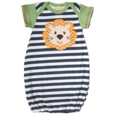 9f12c0280c Haute Baby Roarin Cute Gown Newborn Coming Home Outfit