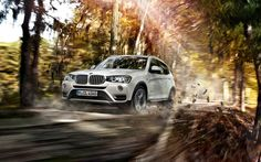 The new BMW X3 xDrive20d.  34.980 € + TVA. http://www.bmw-bavaria.ro/oferta-bmw-x3/