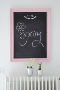 #DIY #chalkboard