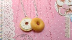This lifelike set of bagel necklaces. | 27 Tokens Of Friendship You Need To Buy For Your BFF Right Now