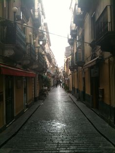 Catania, Sicily how romantic to walk up this. my dream vacation only a dream