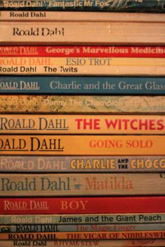 Roald Dahl Collection of magical books.