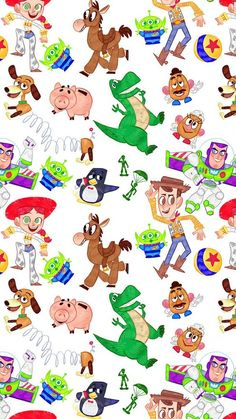 Fondos Nail Polish o&m nail polish Art Disney, Disney Kunst, Disney Toys, Disney Pixar, Toy Story Movie, Toy Story Party, Disney Phone Wallpaper, Iphone Wallpaper, Disney Background