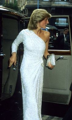 Anna said Diana became more confident with her style choices over the years.
