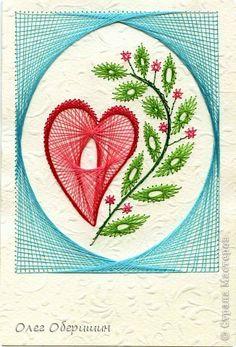 Valentine's Day card Izon Happy St Valentine Threads