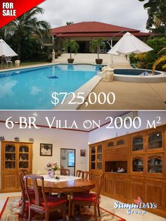 6-Bedroom pool villa for sale in Samui, Thailand real estate. District: central. Land area: 2000 sq. m. Houses area: 440 sq. m. Price: $725,000. Please visit our website to know further details: http://samuidays.com/product/pvn1o-18/  #SamuiDaysGroup #Invest #Samui #Thailand #Propertyforsale #RealEstate #Villa #PassiveIncome