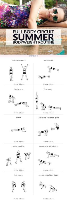 Full Body Bodyweight Workout | Posted by: AdvancedWeightLossTips.com