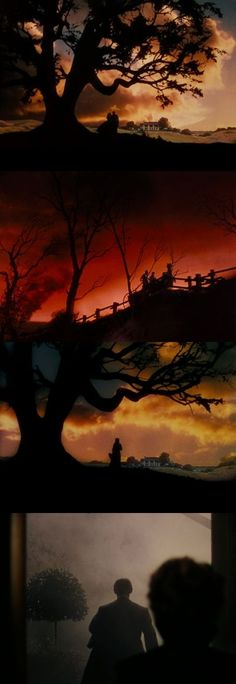 Silhouettes in Gone with the Wind #film #movies