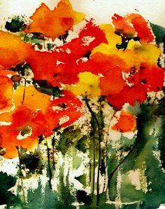 Watercolor by Anne Duke