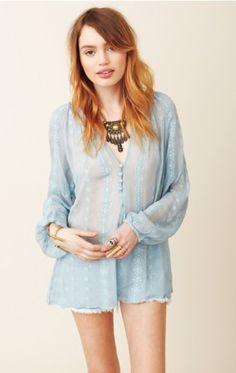 Zoa Long Sleeve Lace Blouse 99