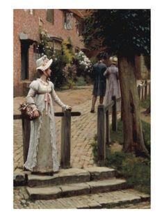 Sally, 1895 - Edmund Blair Leighton