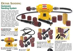 Get the #detail you've been looking for with the Guinevere #Sanding System, from #Klingspors #Woodworking online catalog. #Tools