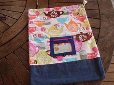 New to BitsandBobs4Bubs on Etsy: drawstring bag. library bag. toy bag. pajama bag. sports bag. ballet bag. kindergarten bag. laundry bag. book bag. school bag (15.00 AUD)