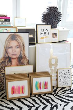 ADORE this kate moss print on MadeByGirl
