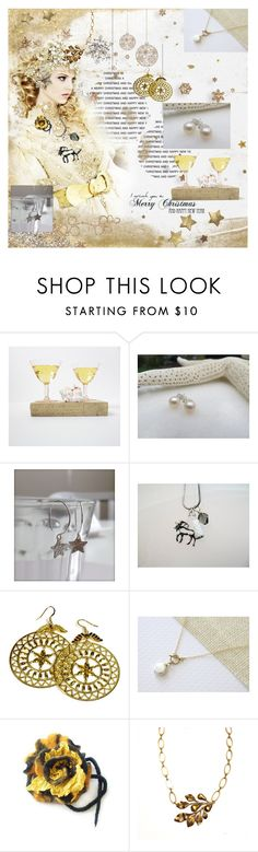 """White Christmas"" by marlena-rakoczy ❤ liked on Polyvore featuring vintage"
