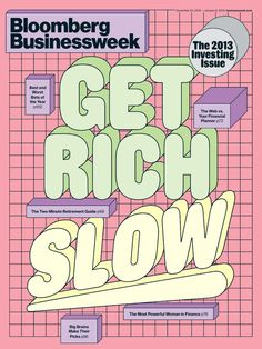 Each issue of Businessweek features in-depth perspectives on the financial markets, industries, trends, technology and people guiding the economy. Draw upon Businessweek\'s timely incisive analysis to help you make better decisions about your career, your business, and your personal investments. Graphic Design Posters, Graphic Design Inspiration, Typography Design, Lettering, Typo Design, Graphic Design Trends, Retro Design, Book Design, Graphic Design Magazine