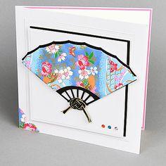 washi dimensional fan card