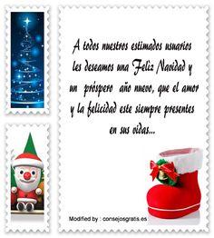 buscar dedicatorias para enviar en Navidad empresariales,descargar textos para enviar en Navidad empresariales por whatsapp: http://www.consejosgratis.es/pensamientos-navidenos-para-calendarios/