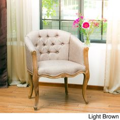 Christopher Knight Home Natalie Weathered Chair | Overstock.com Shopping - The Best Deals on Living Room Chairs