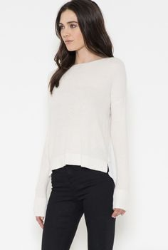 'Be My Muse' Sweater - Cream                                                                                                                                                                                 More