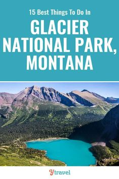 Glacier National Park is incredible. Check out this list of 15 best things to do in Glacier National Park Montana including tips on how to get there, best hikes, best scenic drive, wildlife spotting, and where to stay. Glacier National Park Montana, Yosemite National Park, Glacier Np, Yellowstone National Park Hotels, West Glacier Montana, Many Glacier, Badlands National Park, Places To Travel, Places To Visit