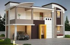 Villa/ Independent House for sale in Palakkad - Victoria Realtors Front Elevation Designs, House Elevation, House Paint Exterior, Exterior House Colors, Front Wall Design, Independent House, Home Buying Tips, Bungalow House Design, Indian Homes