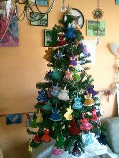 Engeltjes kerstboom