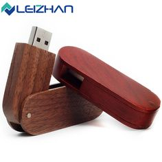 The Rotate Maple & Redwood & Ecru bamboo & Walnut usb 2.0 usb flash drive 8gb 16 gb 32 gb pen drive memory stick pendrive u disk