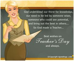Dgreetings - Teacher's Day Cards.