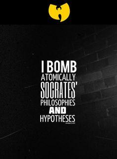 Wu Tang Quotes, Wu Tang Tattoo, Hip Hop Lyrics, Song Lyrics, Wu Tang Clan, Music Aesthetic, Joker And Harley Quinn, Sweet Nothings, African History