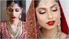 FYI: Bridal makeup By Jitu Barmanie,Best Bridal Makeup Tutorial,Indian Bridal Makeup 2018 Mac Bridal Makeup, Bridal Makeup Videos, Indian Bridal Makeup, Wedding Makeup Looks, Indian Makeup Tutorial, Wedding Makeup Tutorial, Wedding Day Makeup, Wedding Hair, Rose Gold Eyeshadow Look