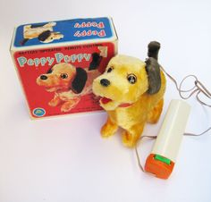 Peppy Puppy Dog 1  Vintage 60s Mechanical by aquamarinedream, $15.00