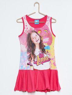 Robe en coton 'Soy Luna' Fille à 15,00€ - Découvrez nos collections mode à petits prix dans notre rayon Robe.