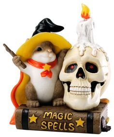 ENESCO Charming Tails Halloween You're Delightfully Figurine, 3.875-Inch