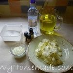 Olive oil soap ingredients