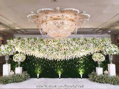 Wedding Stage Backdrop, Wedding Stage Design, Wedding Stage Decorations, Engagement Decorations, Garland Wedding, Bridal Shower Decorations, Wedding Themes, Wedding Designs, Floral Backdrop