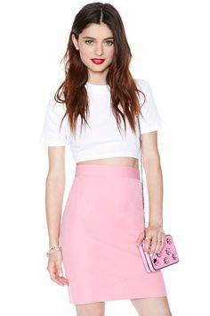Escada Bubblegum Skirt