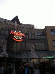 Hard Rock Amsterdam. Been to this one too