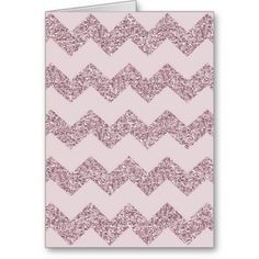 Pink Chevron Glitter Cards @Nicole Brown #musthave