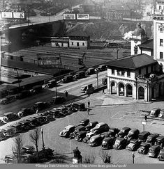 Terminal Station, designed by architect P. Thornton Marye was built in It stood at the northwest corner of Spring Street and Mitchell Street. After 65 years of service as a passenger railroad station, it closed in 1970 and was demolished in Atlanta Travel, Atlanta Neighborhoods, Fulton County, Southern Railways, Georgia Usa, African American History, Back In The Day, Old Pictures, Historical Photos