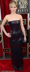 2014 Screen Actor's Guild Awards -> The Best & Worst Dressed Lists: Jennifer Lawrence in Dior