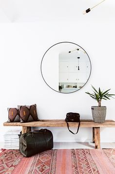 smart storage is key for the renovation of a cosy two-bedroom Manly apartment. Photography by Hannah Blackmore. Styling by Jillian Dinkel. From the July 2017 issue of Inside Out Magazine. Available from newsagents, Zinio, https://au.zinio.com/magazine/Inside-Out-/pr-500646627/cat-cat1680012#/  and Nook.