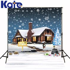 Find More Background Information about Kate Christmas Backdrop Photography Frozen Snow House for Children Winter Backgrounds For Photo Studio,High Quality children barrettes,China house horse Suppliers, Cheap child play house from Background design room Store on Aliexpress.com