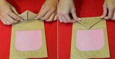 Como hacer bolsitas de souvenirs en forma de búho, con moldes. | Aprender manualidades es facilisimo.com