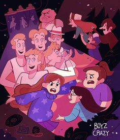 17 - Boyz Crazy Constant — Gravity Falls [S01 Episode 01~05]