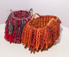 Bsskets-bags, by Idoia Cuesta, contemporary basketry.