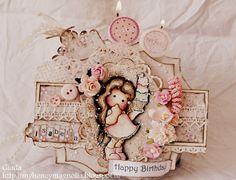 My honey Magnolia: Isa B..Birthday!!
