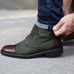 Men's jack boots from Taft