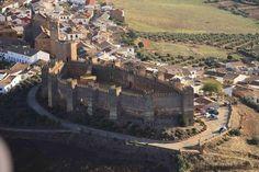 Castillo Burgalimar en Baños de la Encina, Jaén, Andalucia España